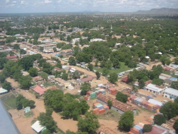 Aerial view of Juba in 2008 ©Rens Willems