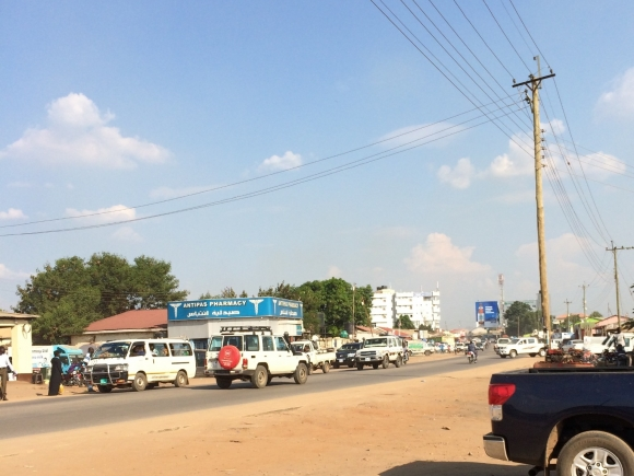 Street view of Juba in 2014 ©Rens Willems